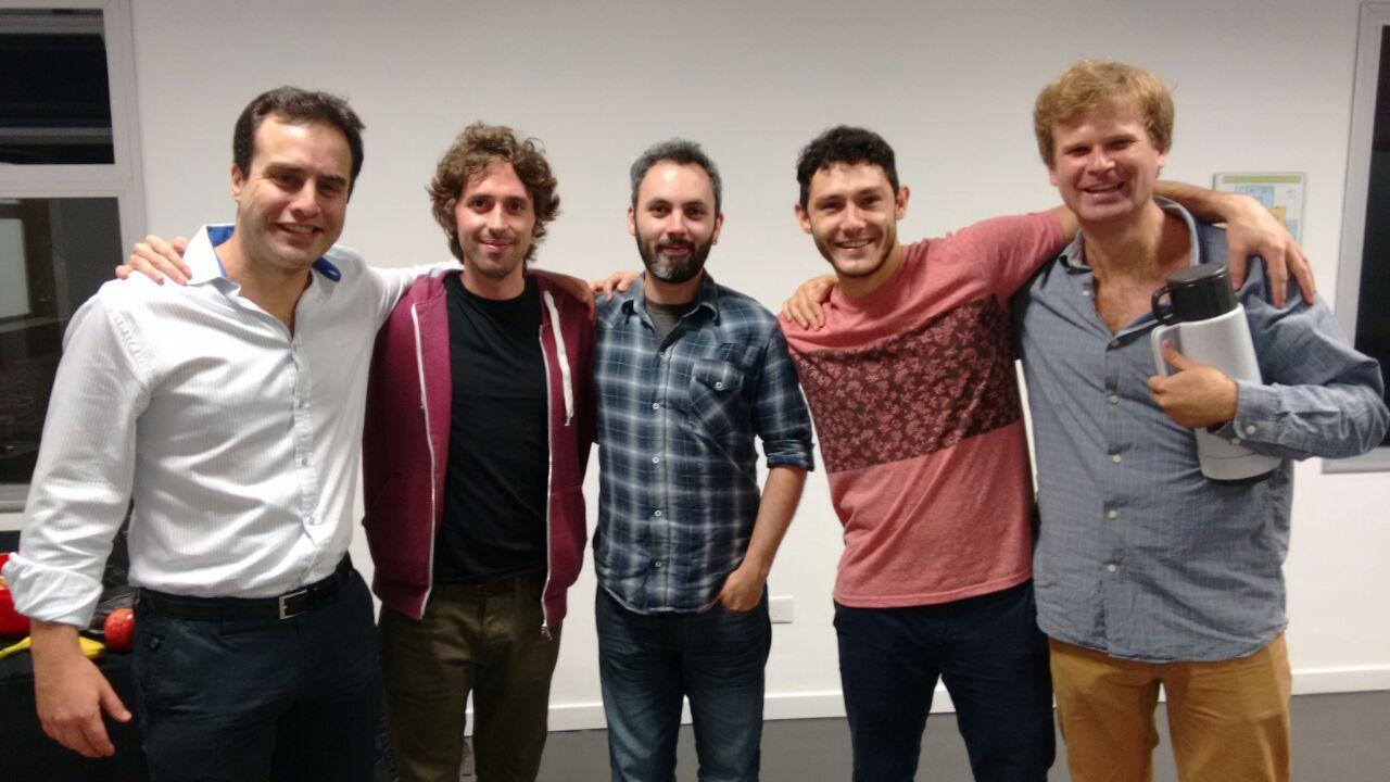 Sebastian Hahn, Juanfra Aldasoro, Andres Villarreal, Serafin Danessa, Jose Debuchy