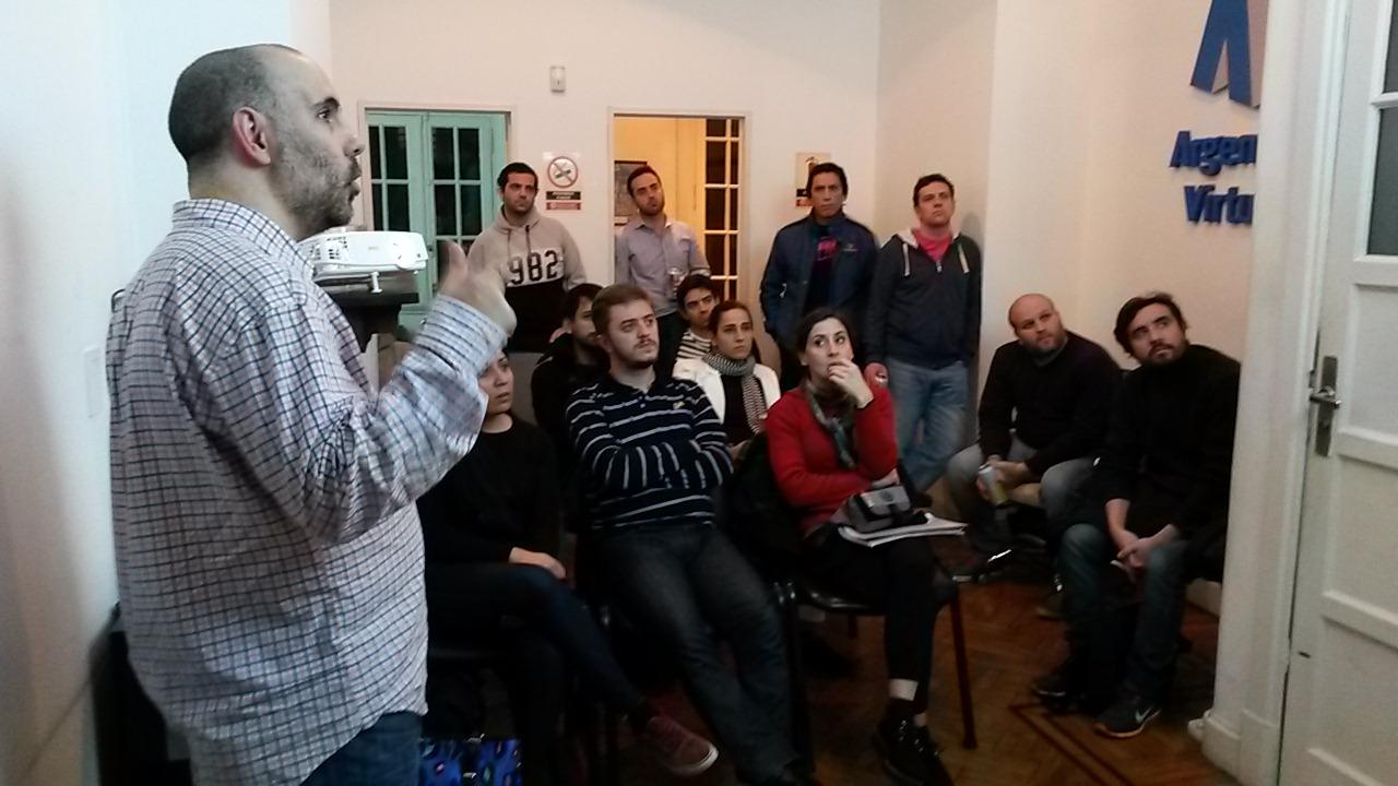 Joan Blanch experto en SEO en el Meetup de Julio