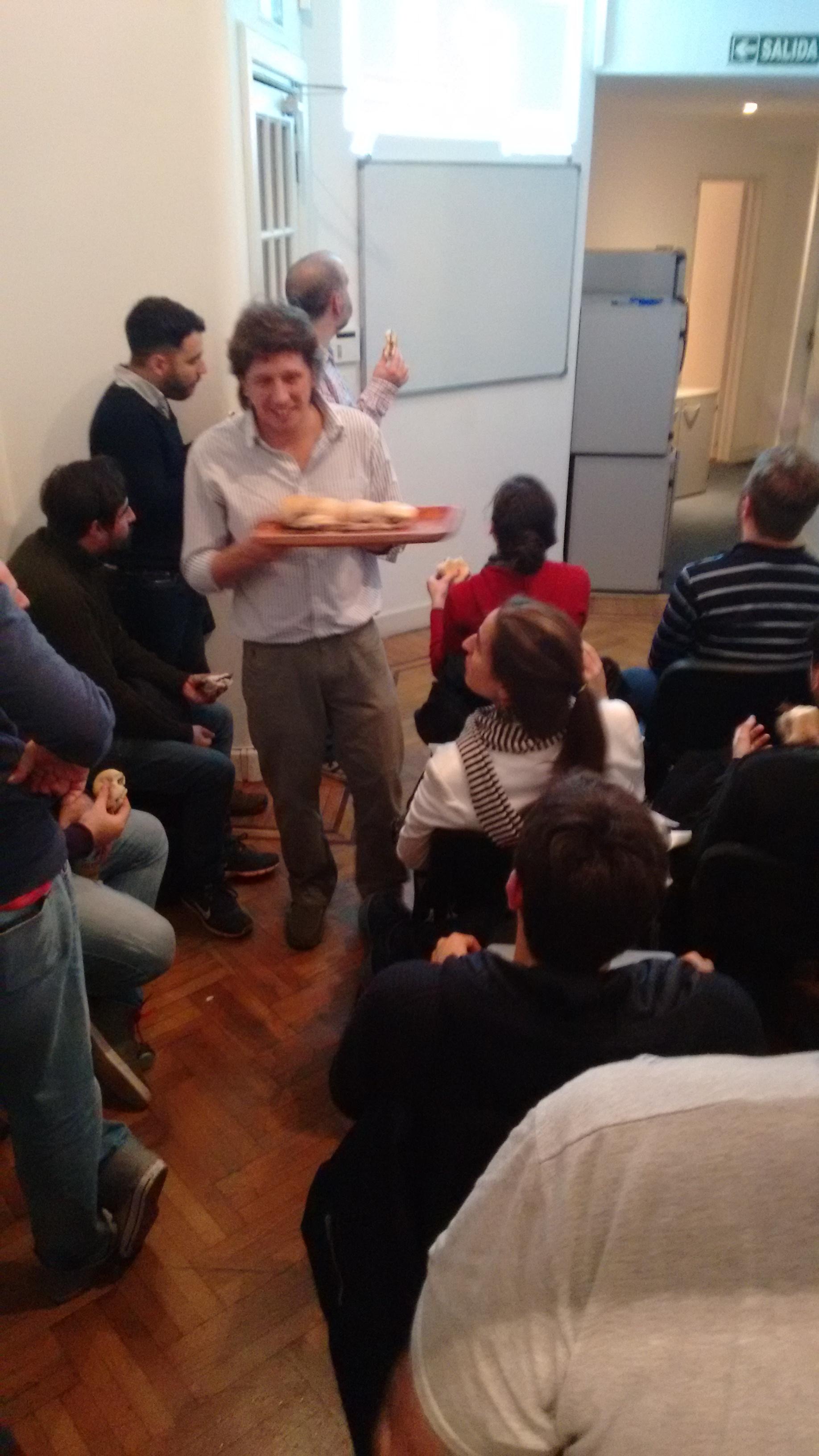 Ignacio Macias en el meetup de Julio