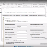 Configurar Email en el Outlook 2013
