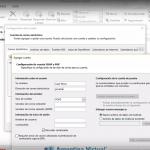 Configurar Email en el Outlook 2013