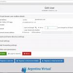 Cambiar contraseña de Email en Virtualmin