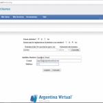 Solicitar dominio adicional en Argentina Virtual