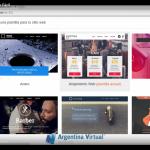 Usando el creador de sitios web - Sitio Fácil