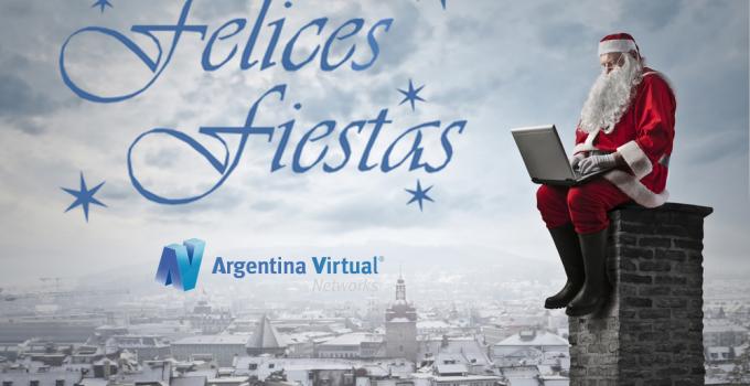 Felices Fiestas de Argentina Virtual