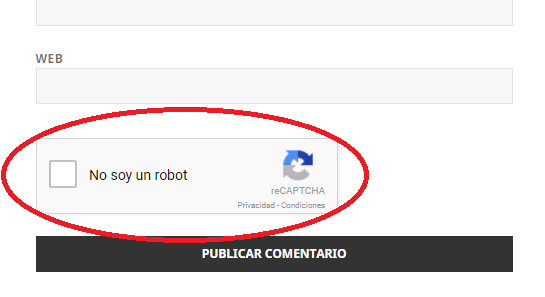 Google reCAPTCHA en WordPress