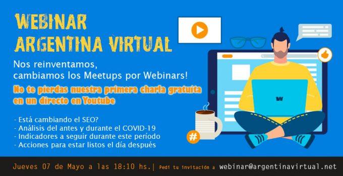 Primer Webinar de Argentina Virtual